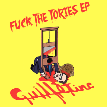 Small guillotine itunes finished logo and text