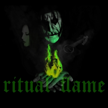 Small ritual flame album art