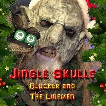 Small jingle skulls album cover